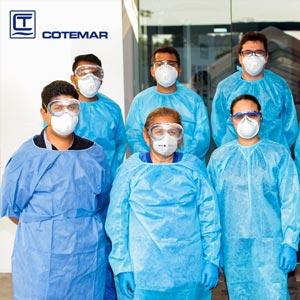 Dona Grupo Cotemar 2 mil oxímetros de pulso