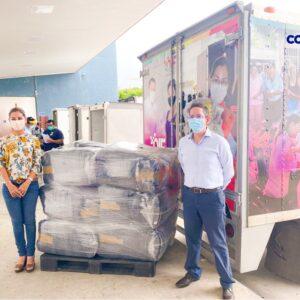 Cotemar entrega apoyo al DIF Carmen para atender a las familias afectadas por turbonada