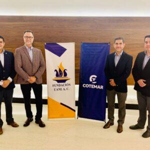 Cotemar firma convenio de colaboración con la Fundación UANL A.C.